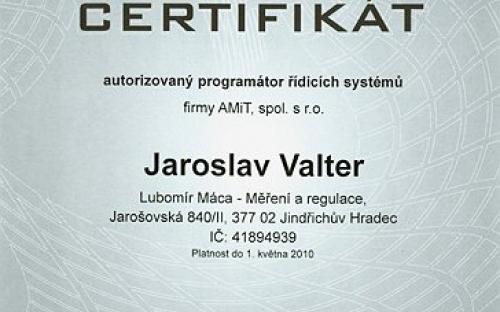 CERTIFIKÁT programátora 2008