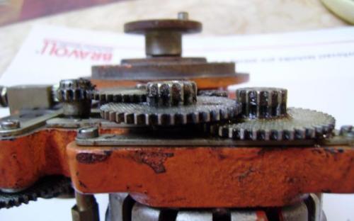 Obrázek č. 4 – rychlá část přeskládaná – z boku.