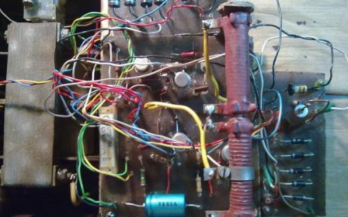 Zdroj 30V/1A - líc tištěný spoj