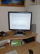 Testovací stůl - domácí simulátor
