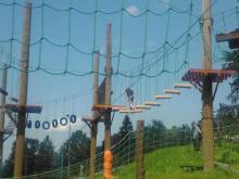 Lanové centrum a bobová dráha Grůň 2011