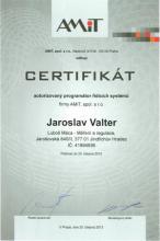 CERTIFIKÁT programátora 2013