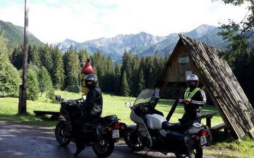 Výlet na motorkách Tatry 2017 – BMW R80 RT