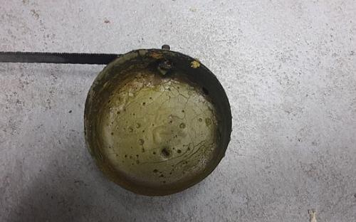Uvařená sirná játra po zchladnutí