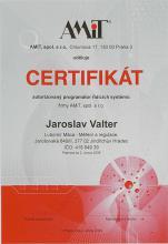 CERTIFIKÁT programátora 2004