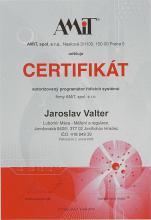 CERTIFIKÁT programátora 2006