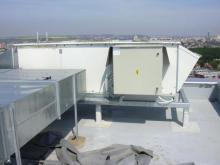 Rozvaděč střecha