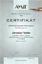 CERTIFIKÁT programátora 2011