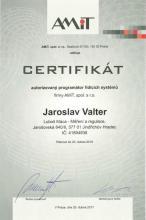 CERTIFIKÁT programátora 2017